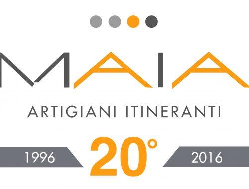 Maia Compie 20 anni - Anniversario -Maia Eventi - organizzazione mercatini artigiani ed eventi in piazze, strade e centri commerciali