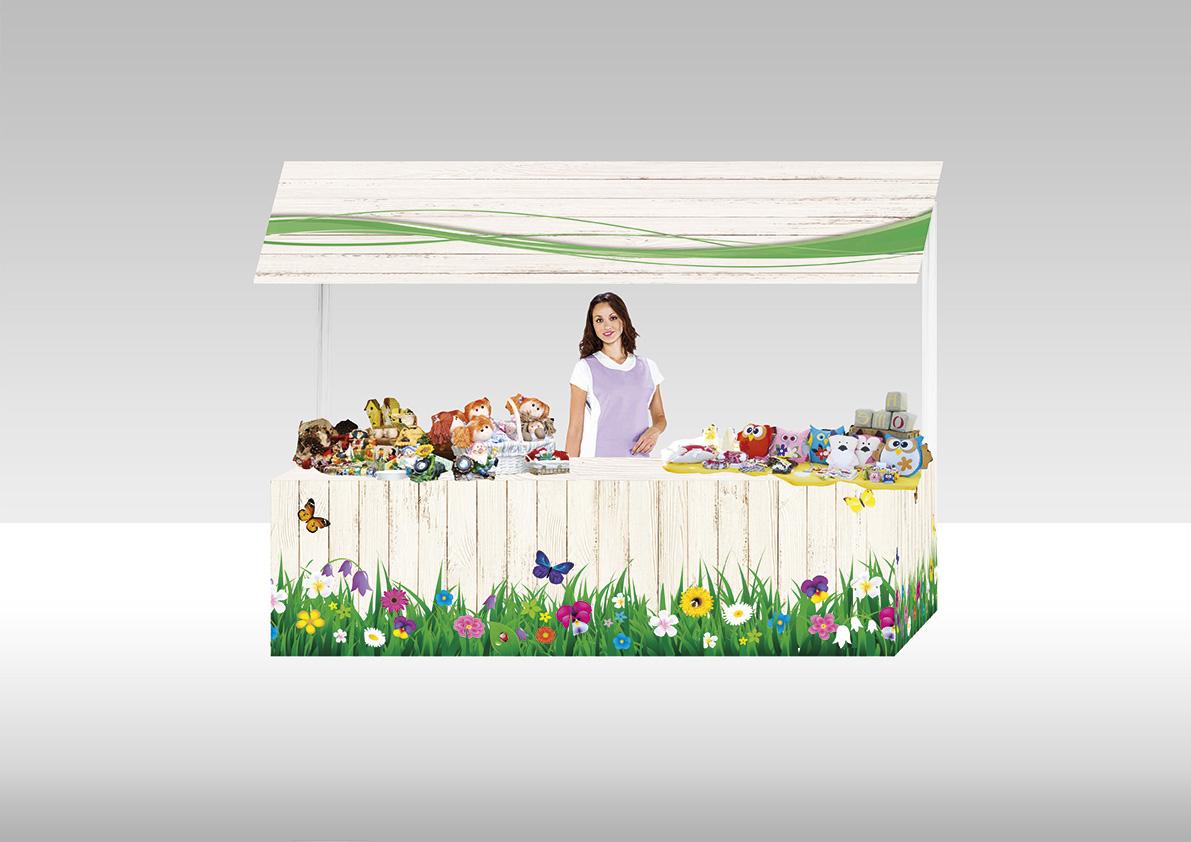Stand Primavera - Maia Eventi - organizzazione mercatini artigiani ed eventi in piazze, strade e centri commerciali