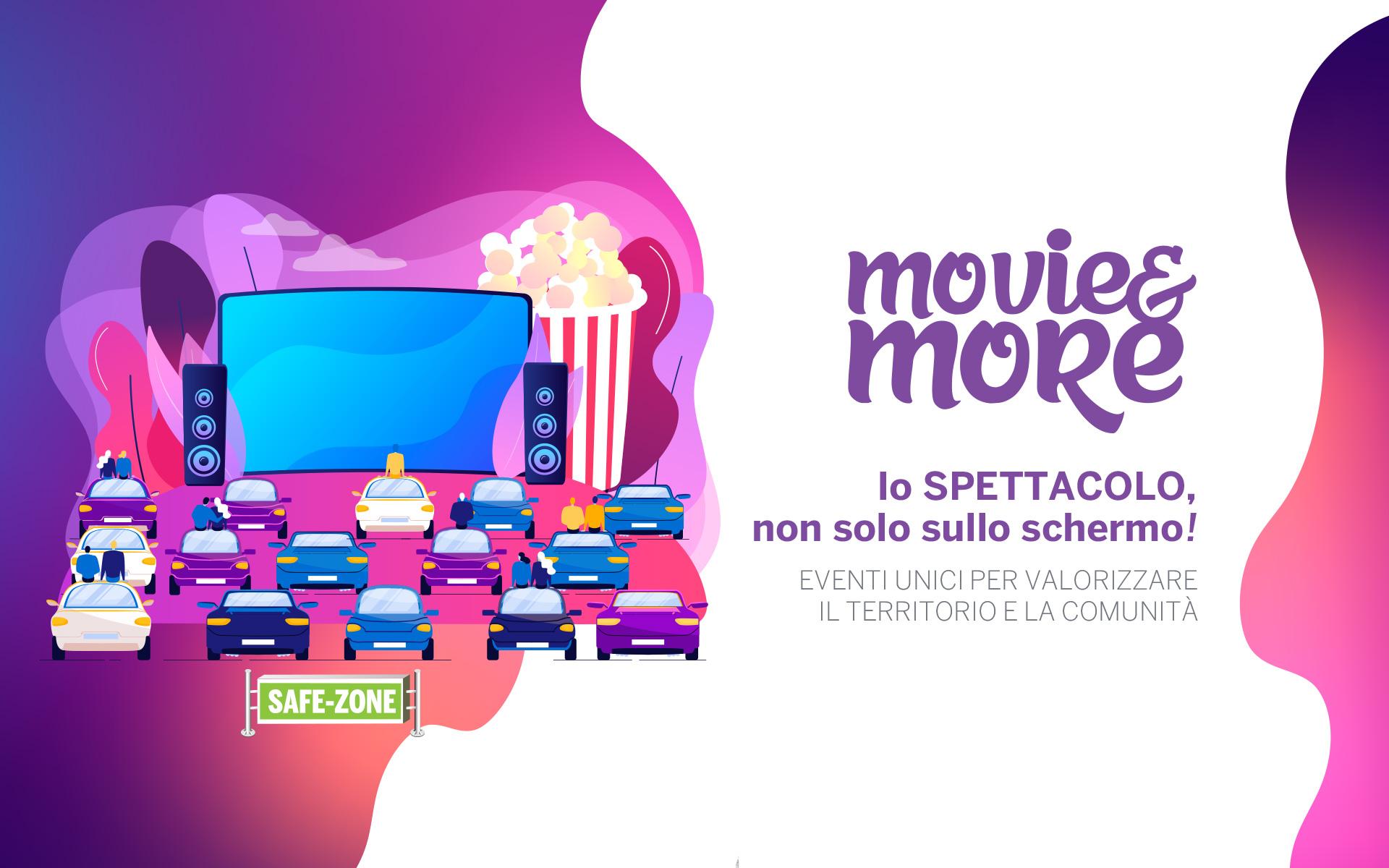 Movie&More - Maia Eventi - eventi per valorizzare territorio e comunità - Lo spettacolo non solo sullo schermo